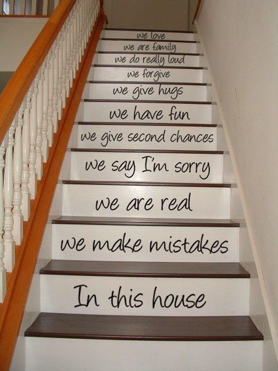 5 DIY ideas to Update Your Stairs