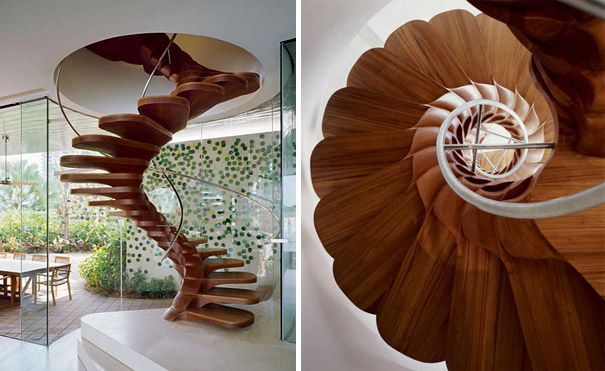 Flower Petal Staircase