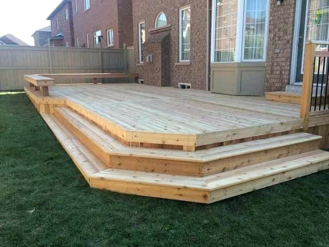Box Step Construction