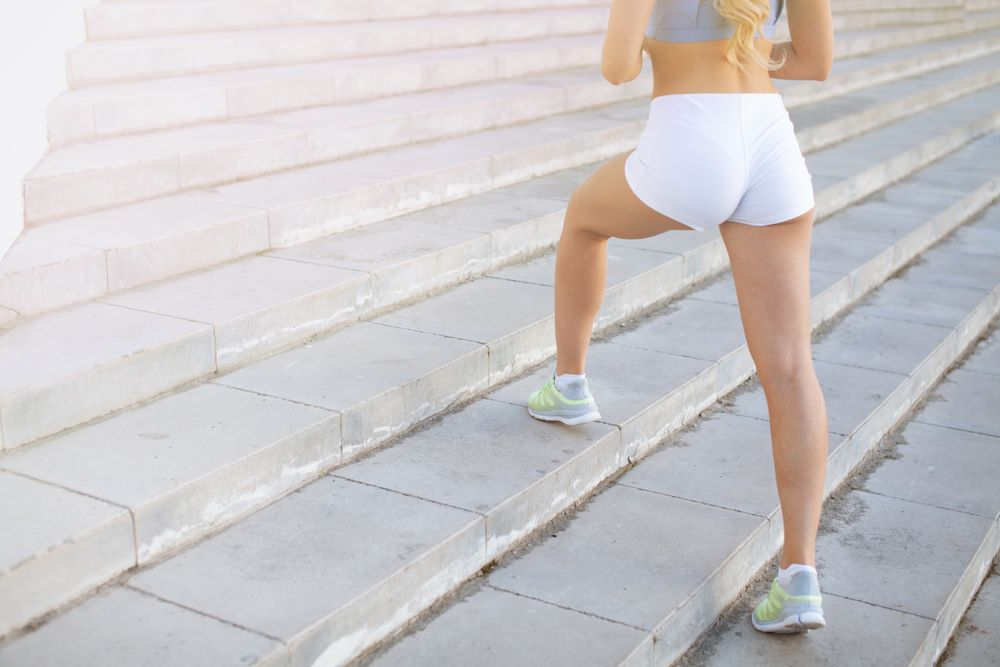 Stairs are a perfect tool to keep you in shape